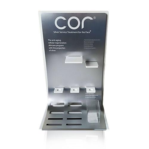 壓加力化妝品膠桌面展示架