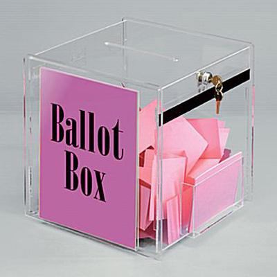 亞加力投票箱