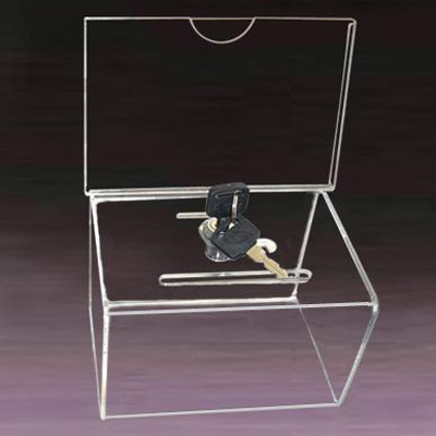 透明亞加力投票膠箱