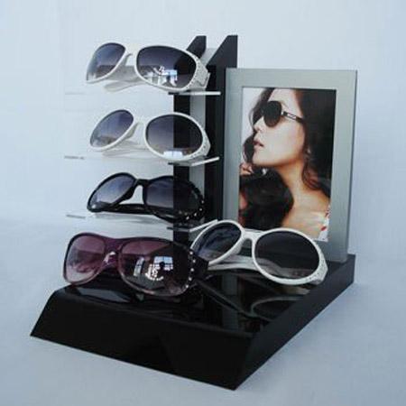 亞加力眼鏡展示台