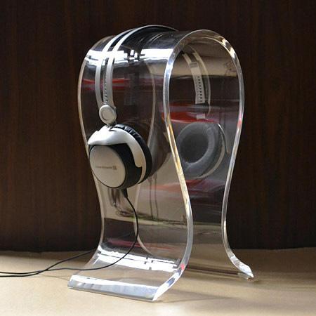 亞加力膠耳機架