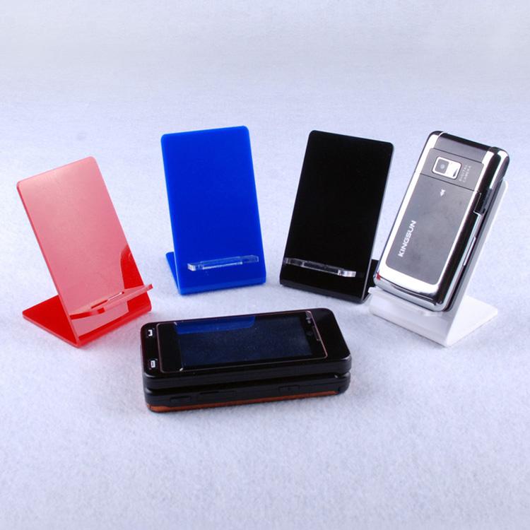 #Model-XI8503櫃台面手機亞加力膠展示台