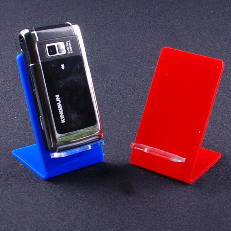 #Model-YY1053亞加力手機展示托 手機座台架