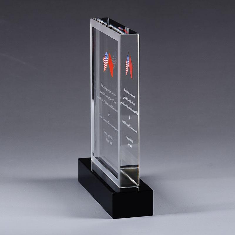 水晶獎品紀念座
